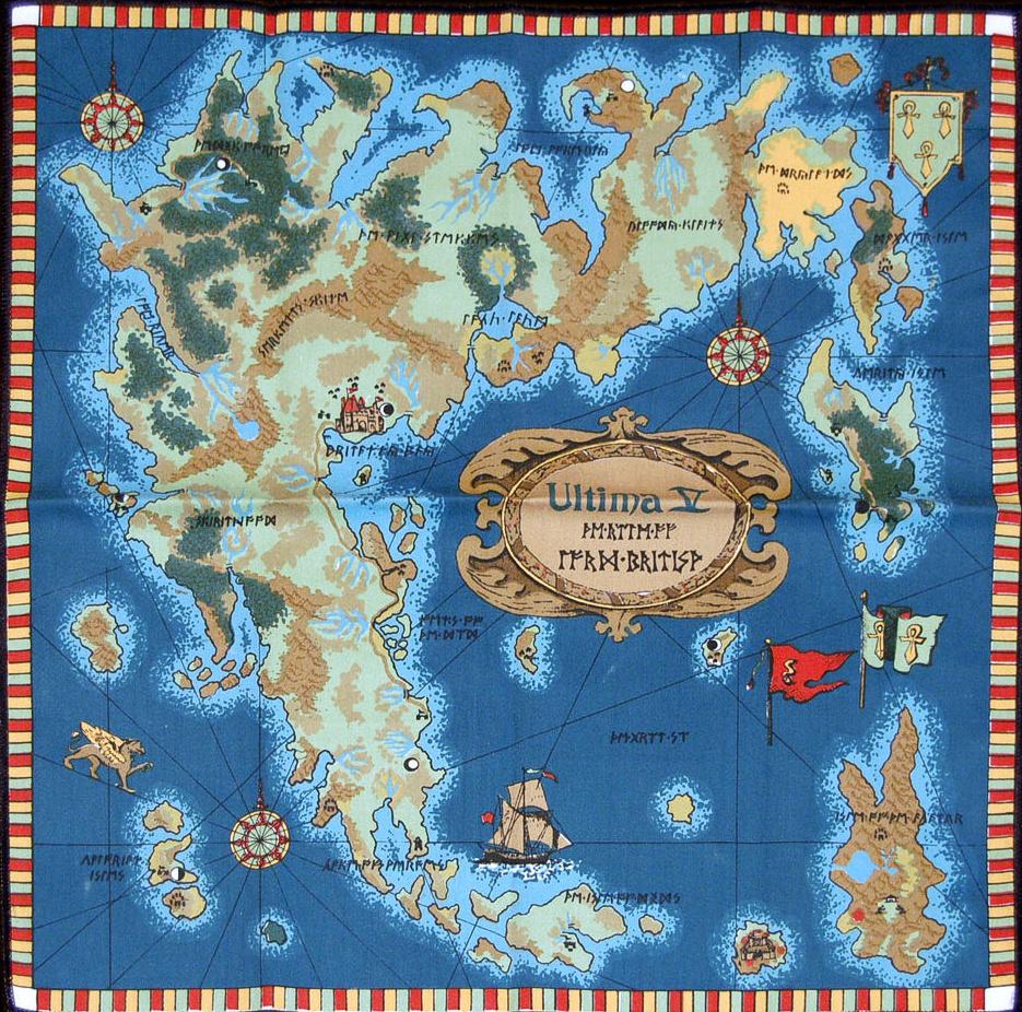 Suggestion: Fantasy World Map - TV Tropes Forum