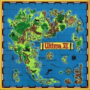 Ultima Vi Map Of Britannia The Codex Of Ultima Wisdom A Wiki For