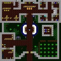 Overhead tile view of Britain's first floor in Ultima V