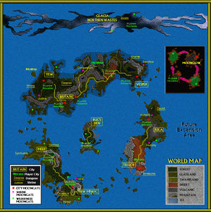 Ultima Online 2 Map - The Codex of Ultima Wisdom, a wiki for Ultima